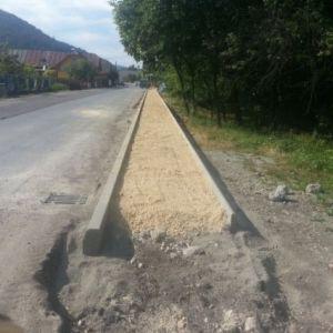 Výstavba a modernizácia chodníka v obci Stupné