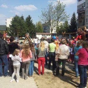 Detské ihriská v obci Beluša